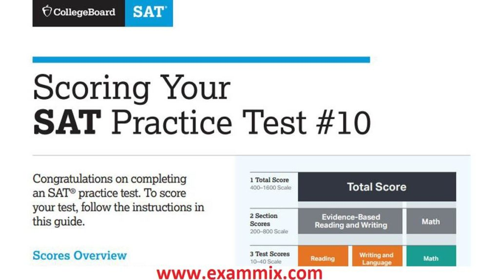 SAT Practice Test Answer Explanations